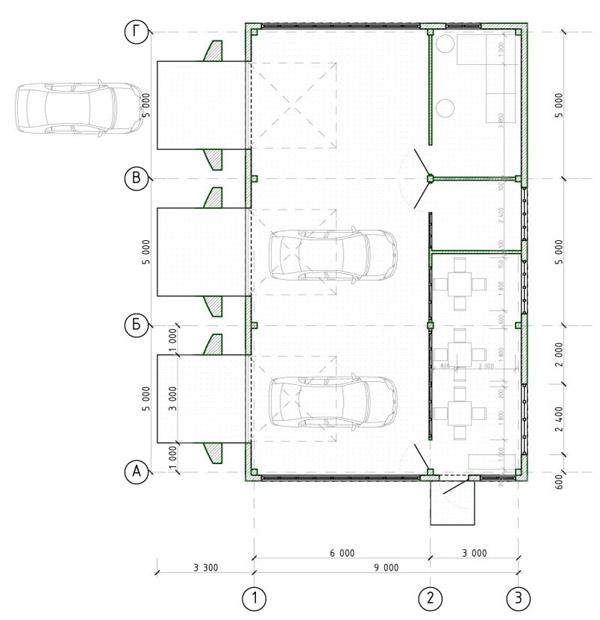 Схема автомойки